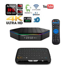 T95Z PLUS 32GB/3GB Octa Core Android 7.1 Dual Wifi 4K TV Box+Touchpad Keyboard