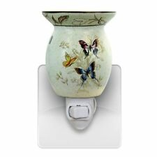 Butterfly Plug in Tart Oil Warmer NEW in box  use scentsy tarts or our own