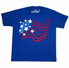Inktastic Stylized American Flag Fourth Of July Youth T-Shirt Independence Day