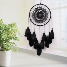 Decor With Feathers Wall Hanging Crafts Handmade White Decoration Dream Catcher
