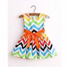 Cotton Print Baby Girls Princess Dresses Kids Dress