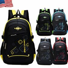 Student Backpack Children Rucksack Shoulder Schoolbag Daypack Travel Camping Bag