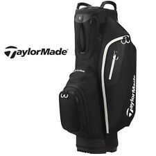 New Taylormade Golf Lite Cart Bag Black Red Gray Royal Full Length Club Dividers