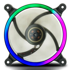 12V 3pin 4Pin DC Computer PC Case Cooler CPU Cooling Fan Black Colorful