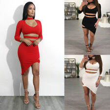 Sexy Women boat neck bodycon bandage Party club party cocktail mini dress