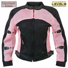 Xelement CF-508 Womens Mesh Sports Armored Motorcycle Jacket
