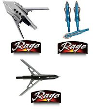 Rage X-Treme & Kore 2-3-Blade Mechanical Broadhead 125-100 Grain Stainless Steel