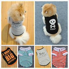 Pet Dog Puppy Vest T-Shirt Clothes Small Dog Winter Warm Clothing Apparel