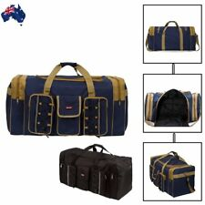 Men's Large Outdoor Travel Luggage Shoulder Bags Tote Gym Overnight Duffle Tote