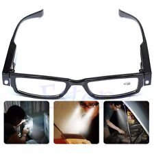 LED Reading Eyeglasses Multi Function Eye Glass with Magnifier Light Mini Torch