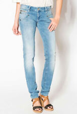 Freeman T.PORTER ALEXA SLIM Super Stretch Denim Flexy Baby Blue Jeans XS-L NEW