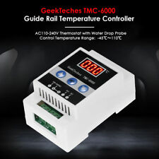 Guide Rail Thermoregulator Digital Temperature Controller Thermostat with Probe