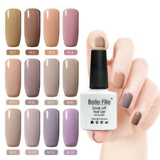 BELLE FILLE Nail Gel Polish UV&LED Soak Off Manicure DIY Top Base Coat Varnish