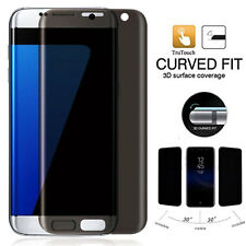 9H Curved Anti-Spy Tempered Glass Film Privacy Screen for Samsung Galaxy S7 Edge