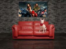 Justice League Movie Super Heroes CANVAS PRINT Wall Giclee Art Poster CA978