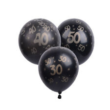 10pcs 30/40/50th Inflatable Latex Balloons Anniversary Birthday Party Supplier