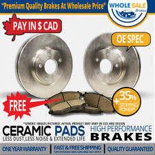 Rear Rotors + Ceramic Pads Fit-2008 Land Rover Range Rover Sport
