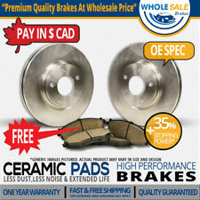 Rear Rotors + Ceramic Pads Fit-2009 Land Rover Range Rover Sport