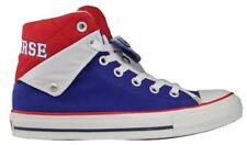 New CONVERSE CT PC PEEL BACK MID Blue Canvas Trainers 140745C UK EU 39