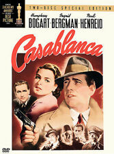 Casablanca  ~ Two Disc Special Edition ~ LIKE NEW - FREE SHIPPING ~