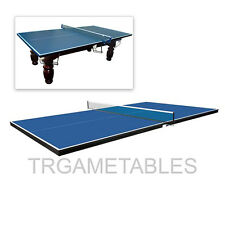 Pro Size Ping Pong Table Tennis Top for Pool Billiard Dinning Table Kids Gaming