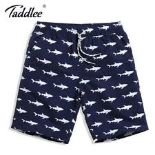 Taddlee Brand Men Beach Shorts Surf Boardshorts Quick Drying Swimwear Swimsuit ^