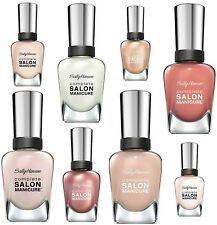 SALLY HANSEN Complete Salon Manicure Nail Polish - NUDE Shades 14.7ML -