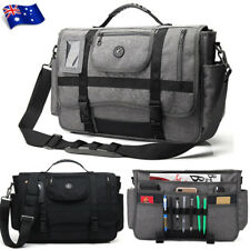 "15.6"" Men Laptop Briefcase Shoulder Messenger Bag Nylon Handbag Business Pocket"