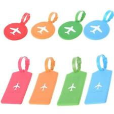Travel Luggage Tag Square Round Address ID Name Card Suitcase Baggage Label Tags