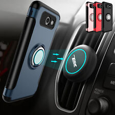 Car Vent Mount Holder+Stand Phone Case For Samsung Galaxy J7 Prime/Sky Pro/Perx