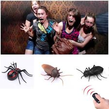 New Fun Simulation Infrared RC Remote Control Scary Creepy Insect Cockroach Toy