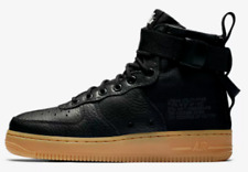 Nike SF AIR FORCE-1 MID WOMEN'S BOOT Black/Gum Brown- Size US 10, 11 Or 11.5