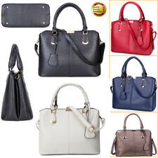 Women PU Leather Handbag Shoulder Hobo Cross-body Bag Messenger Shopping Satchel