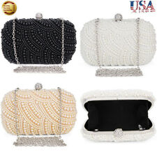 Lady Party Handbag Prom Bridal Evening Clutch Purse Wedding Banquet Shoulder Bag