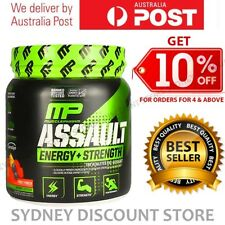 MUSCLE PHARM ASSAULT 30 SERVES PRE WORKOUT STRENGTH PUMP ENERGY 345g