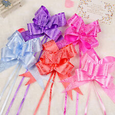 50 MM Ribbon Pull Bows Wedding Party Decorations Gift Wrap Packaging Christmas