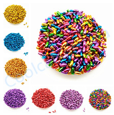 250 Pcs Acrylic Small Oval spacer loose beads DIY Jewelry Making 3*6 mm