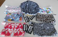 Ladies BATH by Ladelle MAKEUP BAG +/or SHOWER CAP Leopard Zebra Stripe 6 designs