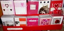 BNIP ASSORTED VALENTINES DAY CARDS HUSBAND WIFE ONE I LOVE BOYFRIEND GIRLFRIEND