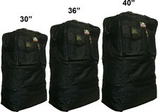 """30""""/36""""/40"""" Black Expandable Rolling Duffel Bag Wheeled Spinner Suitcase Luggage"""