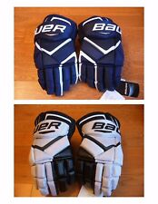 New with Tag Bauer 1X Senior hockey gloves, Pro and Retail Version sz 14 inch