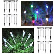 Wholesale Garden Outdoor Stainless Steel LED Solar Landscape Path Lights Lamp TB