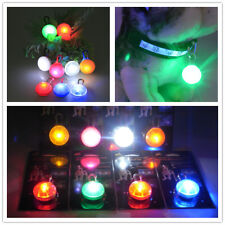 Colors Fabulous Pet Dog Cat Puppy LED Flashing Collar Safety Night Light Pendant