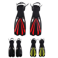 Non-slip Unisex Adult Swimming Fins Snorkeling Scuba Diving Long Foot Flippers