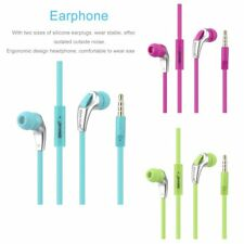 EWAVE Portable HI-FI Stereo In-ear Earphone with Hands-free In-line Microphone U
