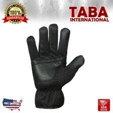 Women's Touch Screen Winter Driving Gloves Soft Dressing Genuine Leather Black