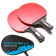 Carbon Fiber Table Tennis Racket Paddle Pimples-in Racket Rubber Pingpong Bats