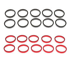 """10Pcs Bike Headset Spacer Aluminum Alloy Bicycle Stem Spacers Washer 1-1/8"""""""