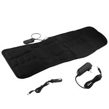 2 IN 1 7 Motor Massage Heat Back Massage Seat Pad Cushion Home Car Massager BB
