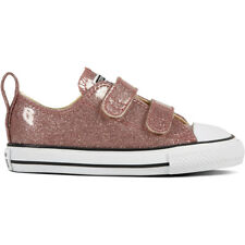 Converse Chuck Taylor All Star 2V Glitter Ox Rose Gold Synthetic Baby